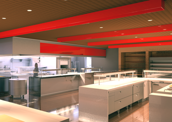 Kitchen Rendering, 3D Revit Symbols